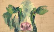 Groene koe © Theo Onnes