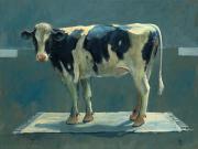 Koe op kleed - Theo Onnes