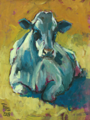 Liggende koe © Theo Onnes