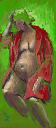 Ankie zwanger © Theo Onnes