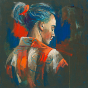 Anne in kimono © Theo Onnes