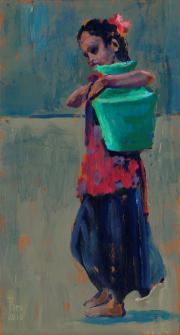 Meisje met kruik © Theo Onnes