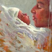 Moeder en kind © Theo Onnes