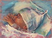 Slapende baby © Theo Onnes