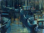 Haven bij nacht © Theo Onnes